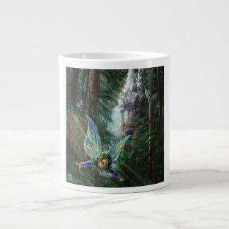Fairy Castle Forest Large Coffee Mug