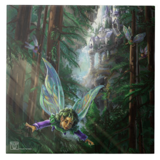 Fairy Castle Forest Tile