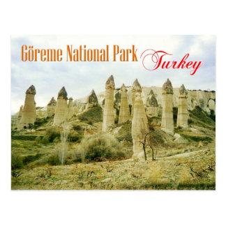 Fairy Chimney rock formations, Cappadocia, Turkey Postcards