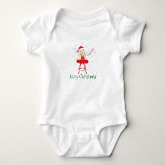 Fairy Christmas baby Baby Bodysuit