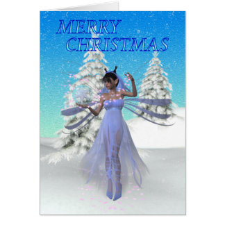 Fairy Christmas Card