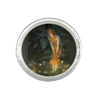 Fairy Circle Fairies Midsummer Eve Photo Ring