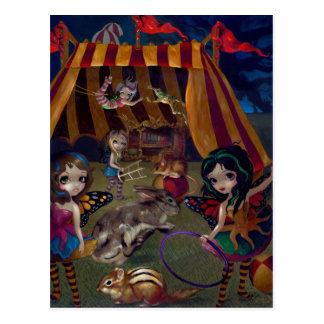 """Fairy Circus"" Postcard"