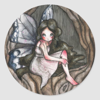 Fairy Classic Round Sticker