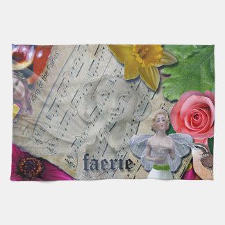 Fairy Collage, Kitchen Towel, Kitchen Towel