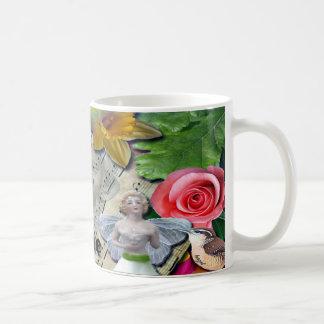 Fairy Collage Mug Original Design Art