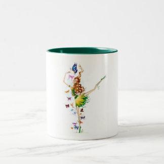 Fairy Collection Two-Tone Coffee Mug