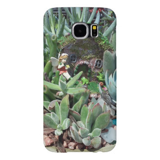 Fairy Cottage Garden Samsung Galaxy S6 Cases