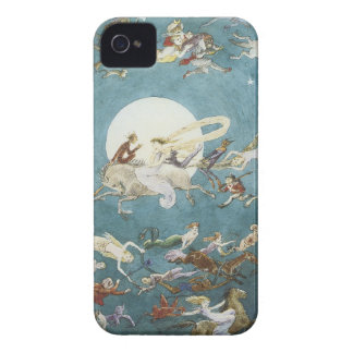 Fairy Dance Around The Moon Case-Mate iPhone 4 Cases