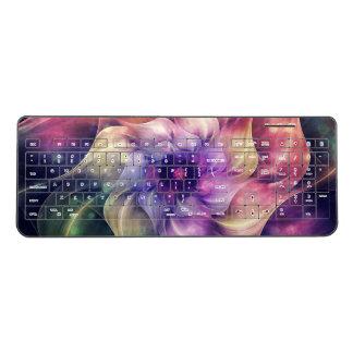 Fairy Dance Fractal Flower Wireless Keyboard