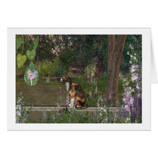 Fairy dew drop Note card