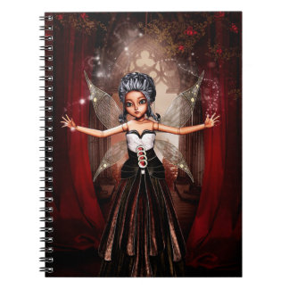 Fairy Doll Spiral Notebook