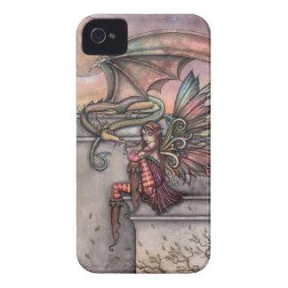 Fairy Dragon Fantasy Art iPhone Case