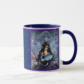 Fairy Dragon Mug by Molly Harrison