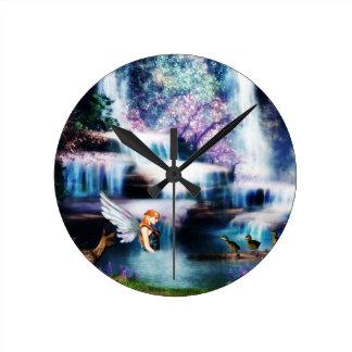 Fairy dream fantasy clock