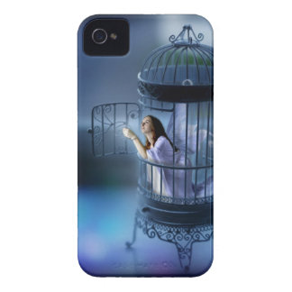 Fairy Escaping Her Gilded Cage iPhone 4 Covers