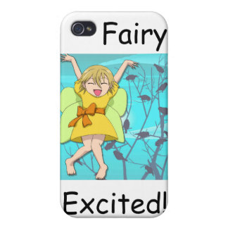 Fairy excited iPhone 4 cases