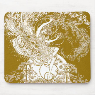 Fairy [Faerie] Illustration by Dorothy Lathrop Mouse Pad