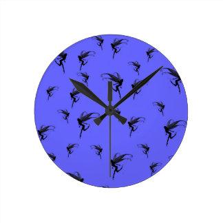 fairy, fairies, fairytale world wall clock