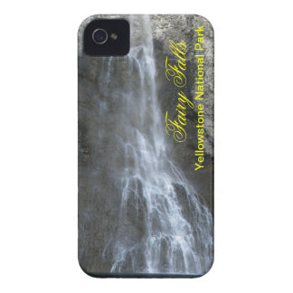 Fairy Falls in Yellowstone iPhone 4 Covers