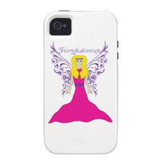 Fairy Fashionista Vibe iPhone 4 Cases