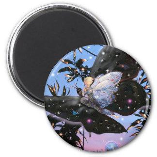 Fairy Flight! 2 Inch Round Magnet