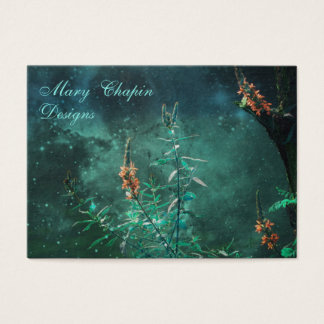 Fairy Flowers in the Jade Moonlight Business Card