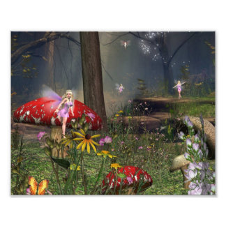 Fairy Forest 10x8 print Photographic Print