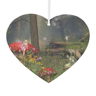 Fairy forest air freshener