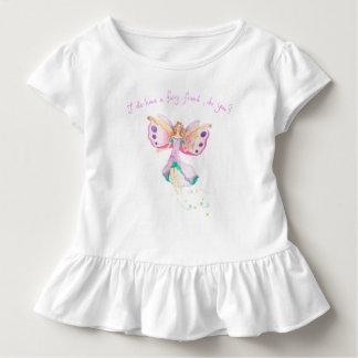 """Fairy Friend"" Baby Ruffle Tee"
