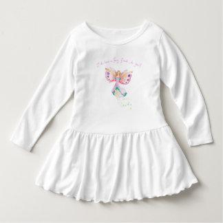 """""""Fairy Friend"""" Toddler Ruffle Dress"""