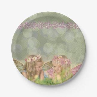 'Fairy Friends' Paper Plates
