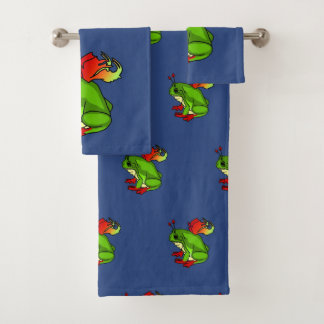 Fairy Frog Bath Towel Set