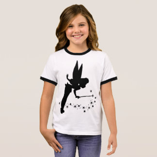 Fairy Girl's Ringer T-Shirt