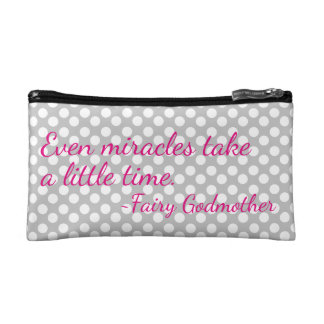 Fairy Godmother Quote Cosmetic Bag