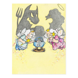 Fairy Godmothers postcard by Nicole Janes
