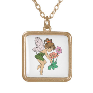 Fairy Gold Plated Necklace