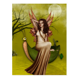 Fairy Gondola Postcard