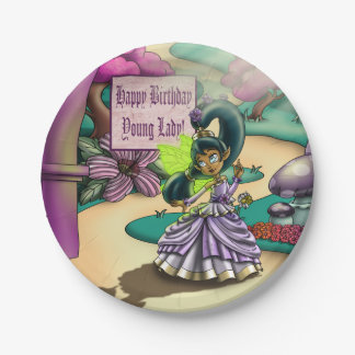 Fairy Goodness Birthday Paper Plates 7""