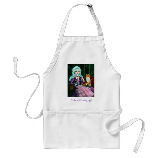 Fairy Goth Strange Company Apron
