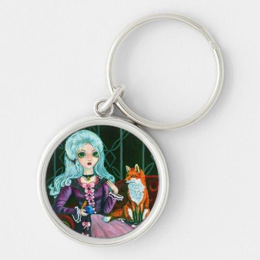 Fairy Goth Strange Company keychain