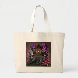 Fairy House Deco Large Tote Bag