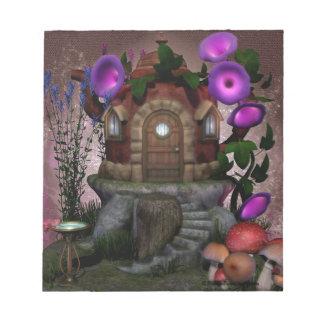 Fairy House Deco Notepad