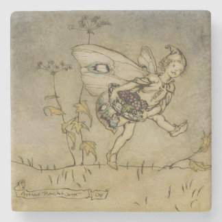 Fairy, illustration from 'A Midsummer Night's Drea Stone Coaster