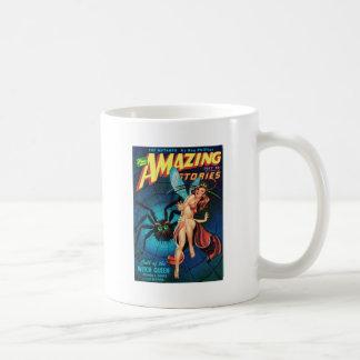 Fairy in a Spider Web Coffee Mug