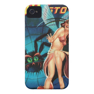 Fairy in a Spider Weg iPhone 4 Case-Mate Cases