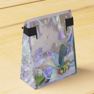 Fairy in her small world favor box