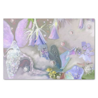 Fairy in her small world tissue paper