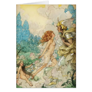 Fairy in Love, Card