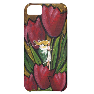 Fairy in the Tulips Followthemoonart iPhone 5C Cover